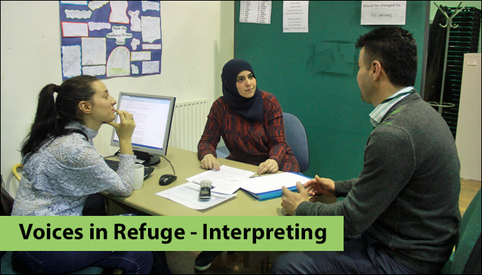 nottginham refugee forum interpreting