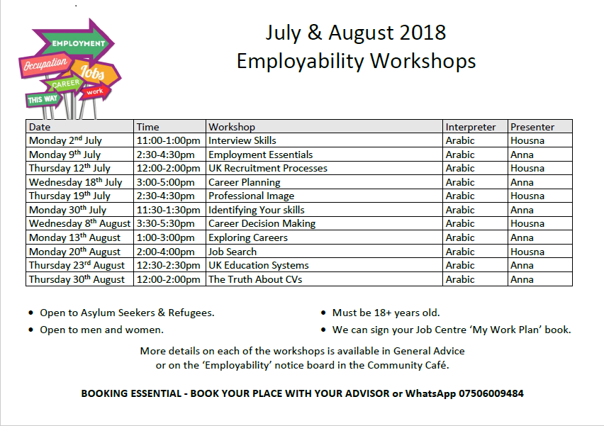 employability - Notts Refugee Forum
